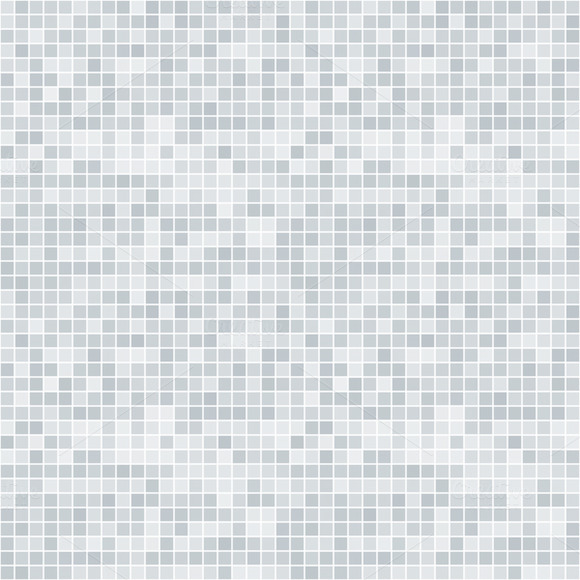 Abstract Pixelated Seamless Pattern