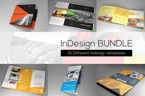 Indesign Bundle 15 Templates