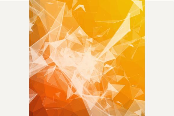 Triangulated Geometric Background