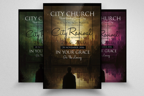 Free church revival flyer template editable downloads for Free church revival flyer template