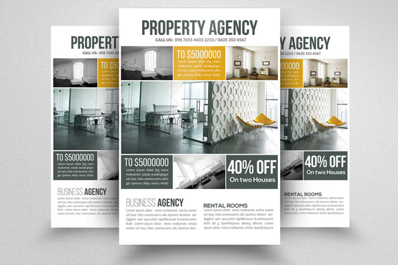 Property management flyer free template designtube for Rental property flyer template