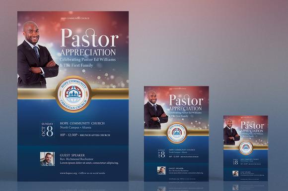 Pastor Appreciation Flyer Poster