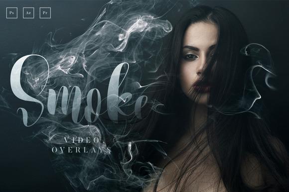 20 Smoke Video Overlays