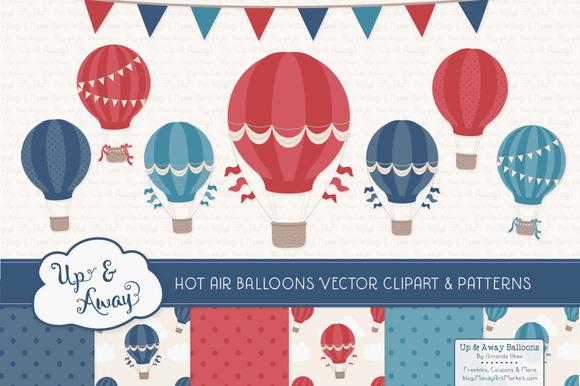 Americana Hot Air Balloons