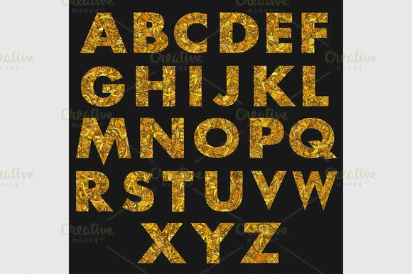 Set Of Capital Letter