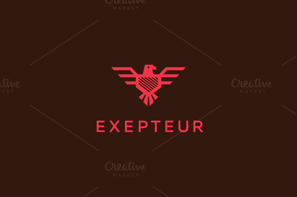Eagle Falcon Bird Logo