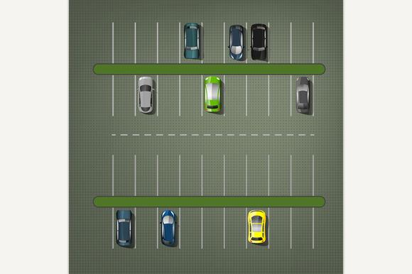Vector Parking Lots