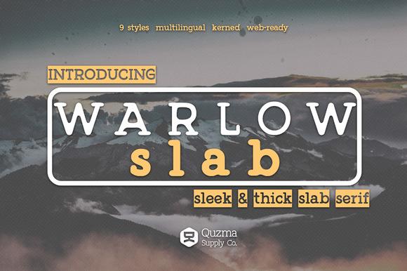 Warlow Slab 25% Off