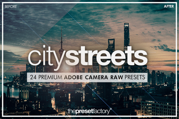 City Streets ACR Presets