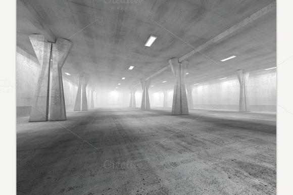 Concrete Underground Parking