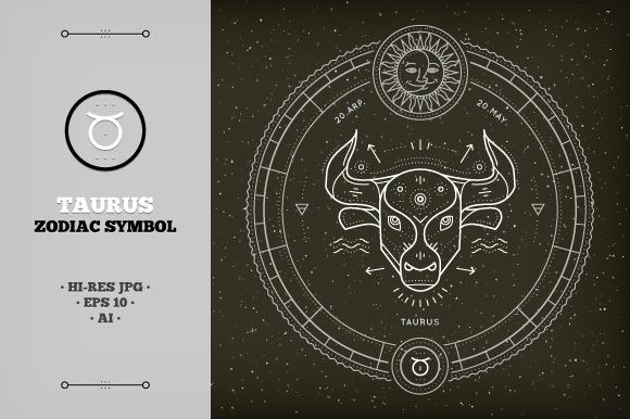 Taurus Zodiac Symbol