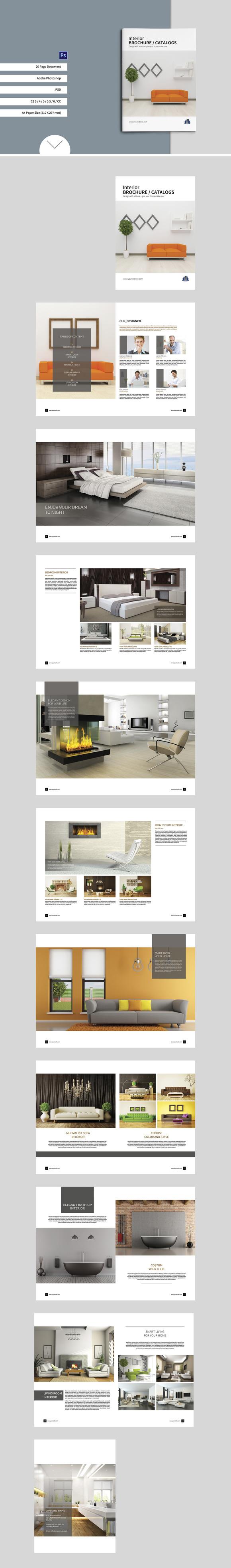 Interior Brochure Catalogs