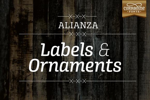 Alianza Labels Ornaments
