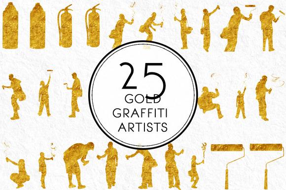 Gold Graffiti Artists