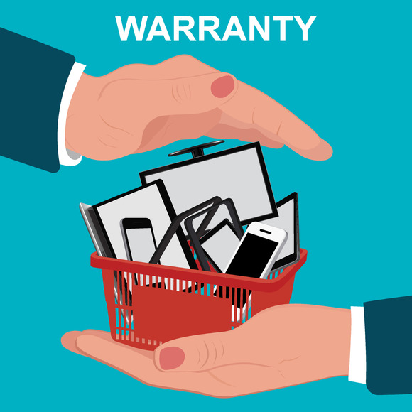 Electronic Warranty Flat Design