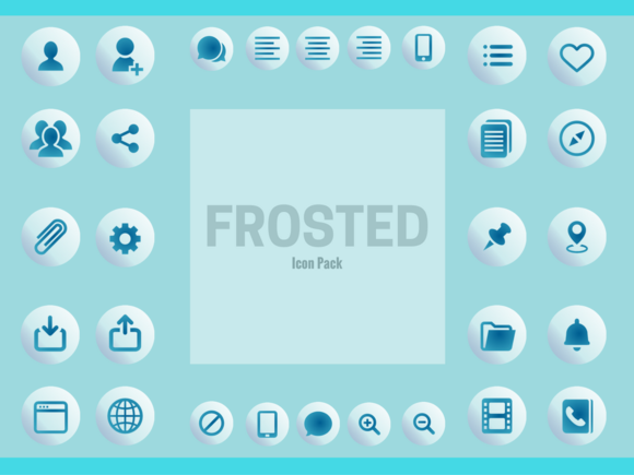 Frosted Icon Pack