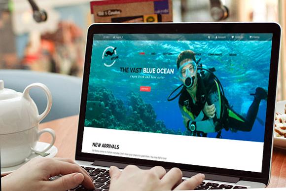 Ap Diving Store Prestashop Theme