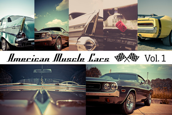 American Muscle Cars Vol 1