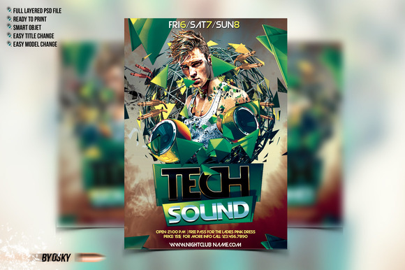 Tech Sound Flyer
