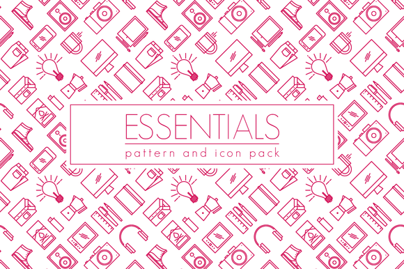 Essentials Pattern Icon Pack