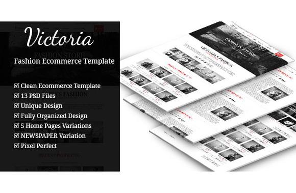 Victoria Ecommerce Template