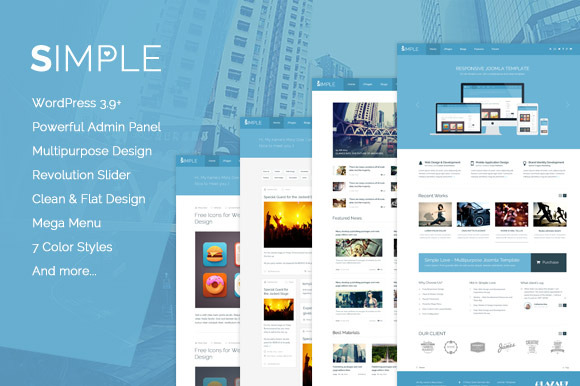 Simple Love WordPress Theme