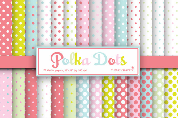 28 Polka Dots Pattern
