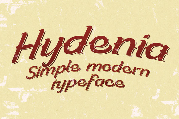 Hydenia Typeface