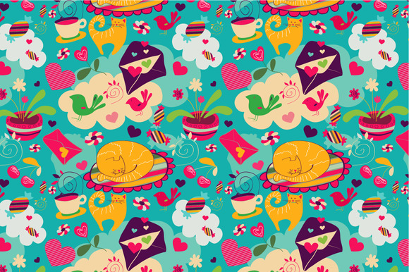 Seamless Pattern Dreams