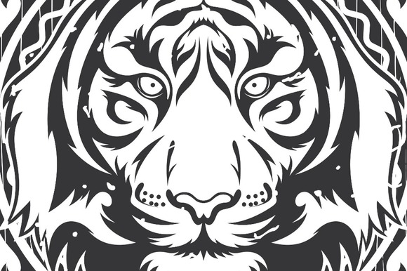 Tiger Vector Frame