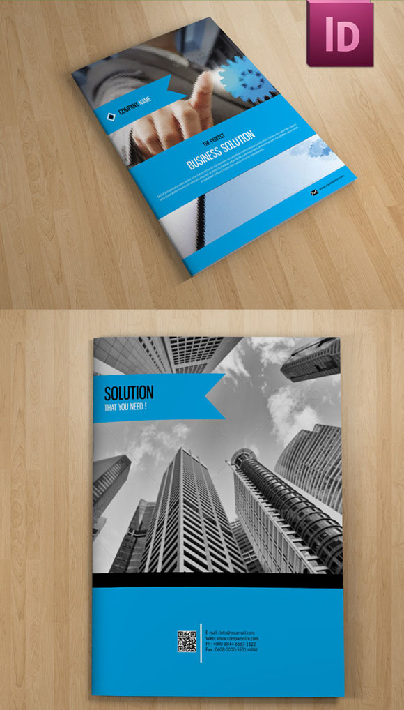 Corporate Brochure Template-V40