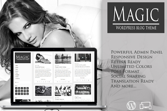 Magic Retina Responsive Blog