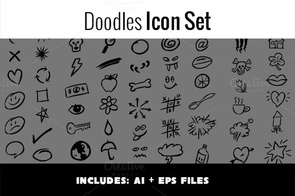 Doodles Icon Set