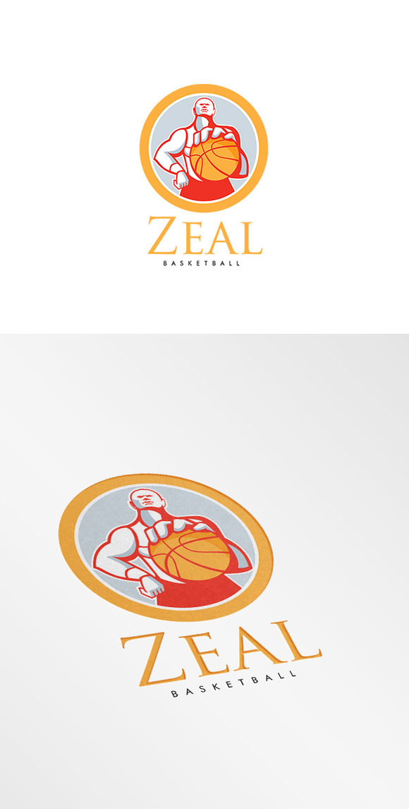 Zeal Basketball Logo