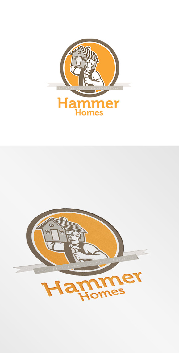Hammer Homes Master Builders Logo