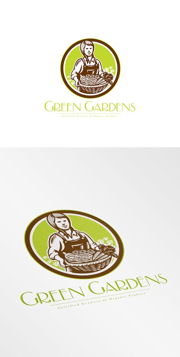 Green Gardens Organic Produce Logo
