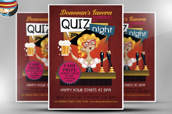 Pub Quiz Flyer Template