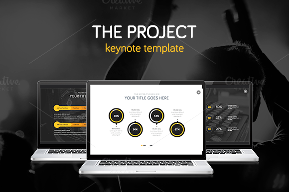 THE PROJECT Keynote Template