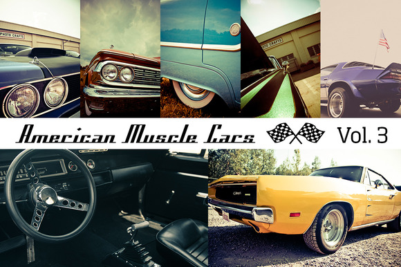 American Muscle Cars Vol 3