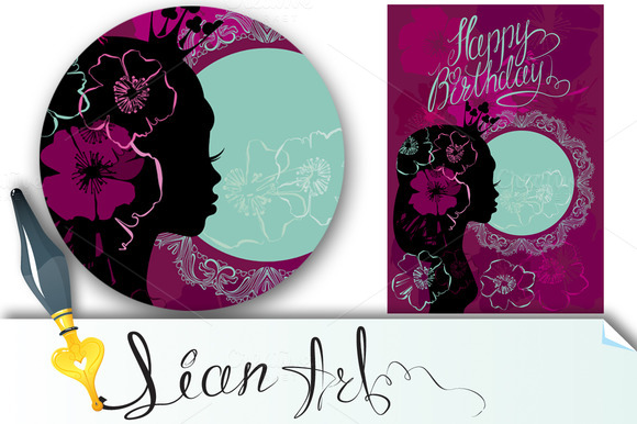 Happy Birthday Little Princess Card