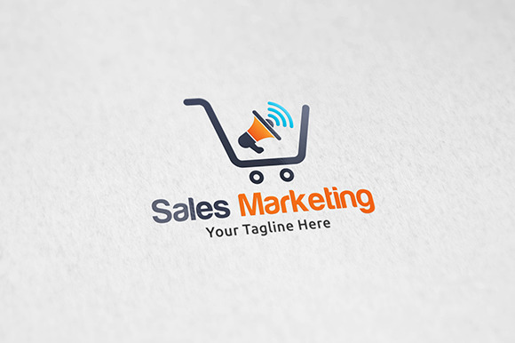 Sales Marketing Logo Template