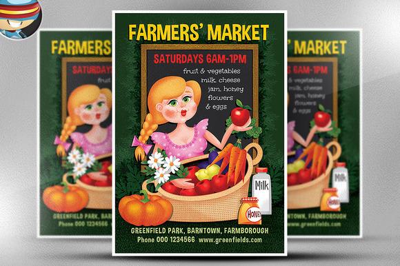 Farmer S Market Flyer Template