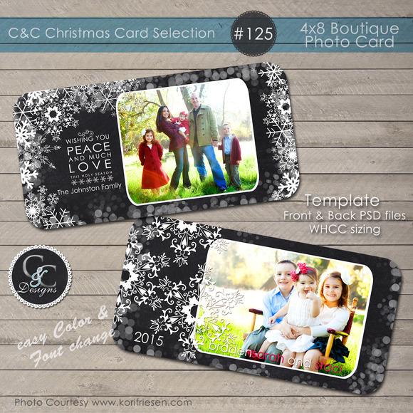 Christmas Photo Card Selection #125