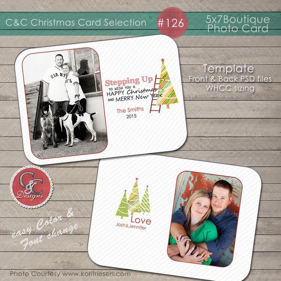 Christmas Photo Card Selection #126