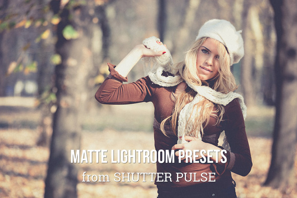 Matte Lightroom Presets