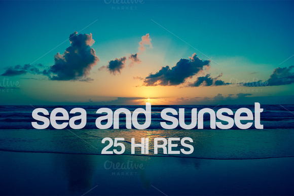 Sea And Sunset Summer Sale