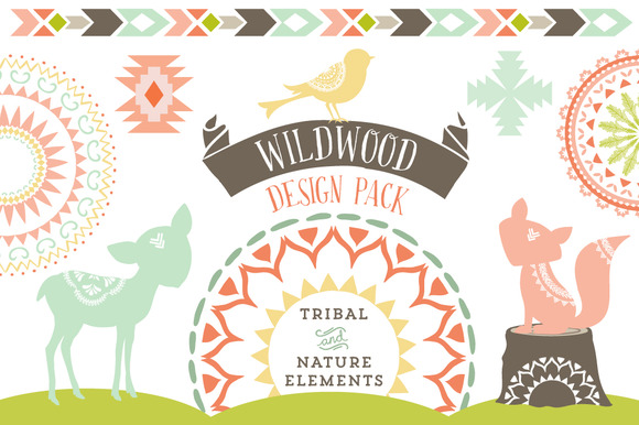 Wildwood Vector Elements