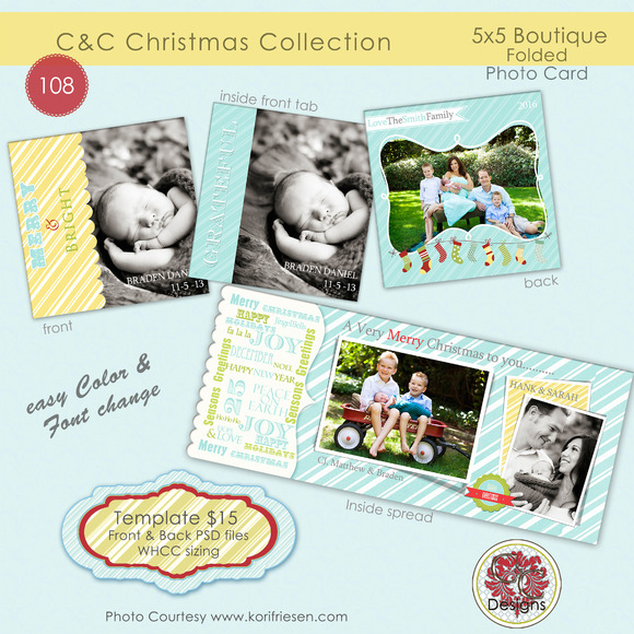 Christmas Photo Card Selection #108