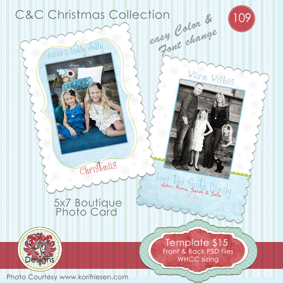 Christmas Photo Card Selection #109