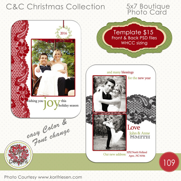 Christmas Photo Card Selection #110